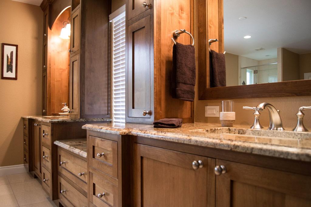 before highlands ranch modern bath remodel - Bathroom Remodel Denver