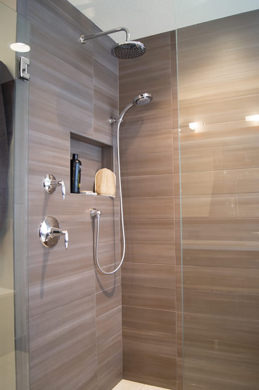 Highlands Ranch Modern Bath Remodel Davinci Remodeling