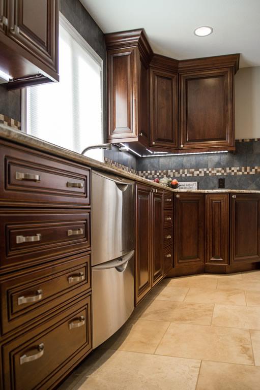 Littleton Kitchen Remodel in Littleton, Colorado Design and build by Da Vinci Remodeling