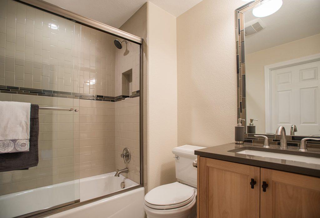 overview of bathroom remodel