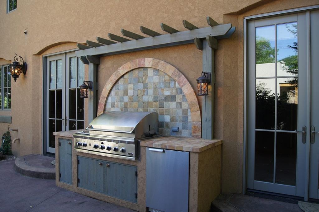 Outdoor Kitchen In Observatory Park Davinci Remodeling